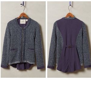 Anthropologie Envalira Cardigan Sweater Jacket